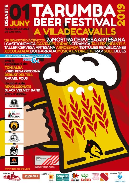 Cartell de la 2a Tarumba Beer Festival