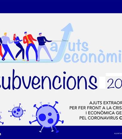 Atorgades les subvencions d'ajut a negocis del municipi davant la crisi sanitària del COVID-19