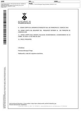 Ordre del dia del ple de maig del 2018 p2