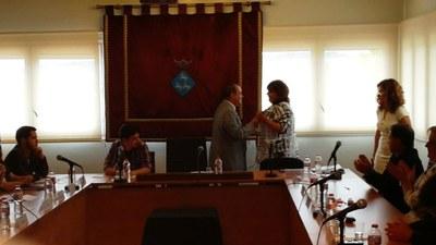 Proclamació alcaldessa Viladecavalls 2015