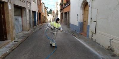 Desinfecció COVID19 nucli urbà