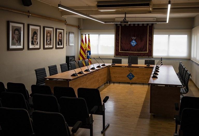Sala de Plens de l'Ajuntament de Viladecavalls