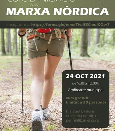 Curs gratuït d'iniciació a la marxa nòrdica