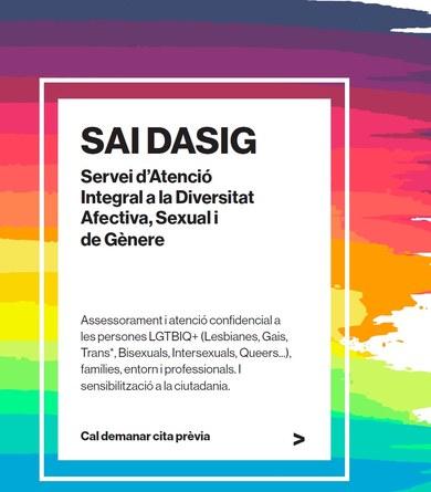 El nou Servei d'Atenció a la Diversitat Afectiva, Sexual i de Gènere (SAI DASIG) de Terrassa dóna cobertura a Viladecavalls