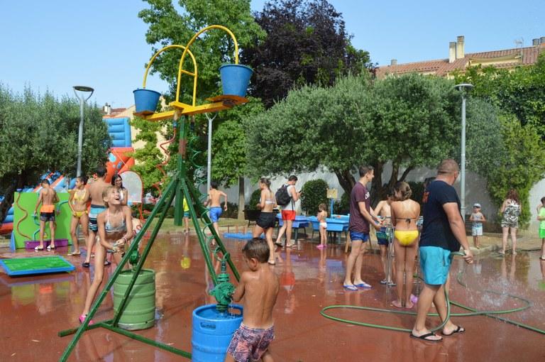Instantània de la Festa de l'Aigua