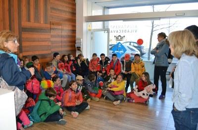 Coneix Viladecavalls - alumnes Escola Rosella OAC