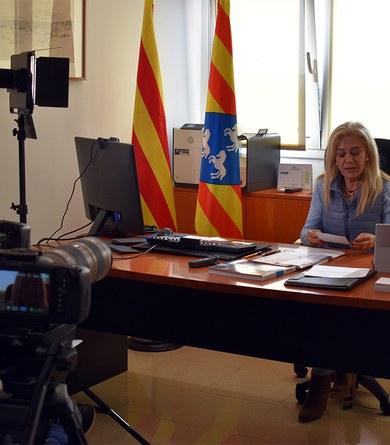 Entrevista a l'alcaldessa de Viladecavalls,  Cesca Berenguer