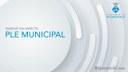 L'Ajuntament emetrà en directe la sessió de Ple del mes d'abril a través de YouTube