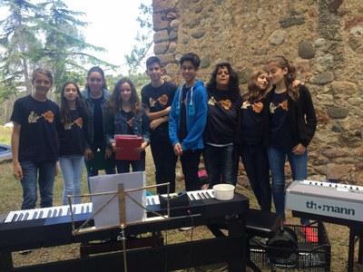 Alumnes de l'EMMPC a l'Aplec del Maestrat