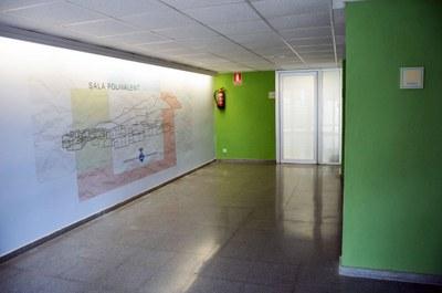 Hall entrada sala polivalent