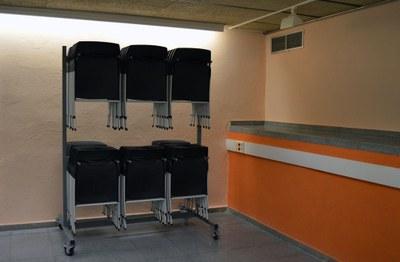Nova estructura de magatzematge de cadires