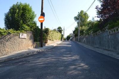 Obres asfaltat Can Turu