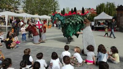 El baladrer de Sant Jordi de la Cia. Cul-Actiu