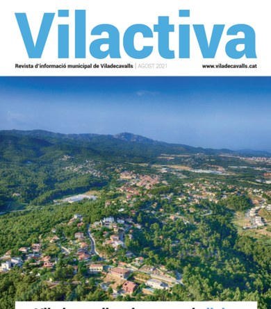 Nova entrega del butlletí municipal: VILACTIVA Agost 2021