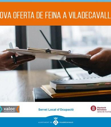 Noves ofertes de feina a Viladecavalls
