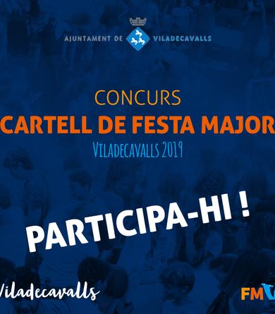 Obert el termini del concurs del cartell de Festa Major 2019