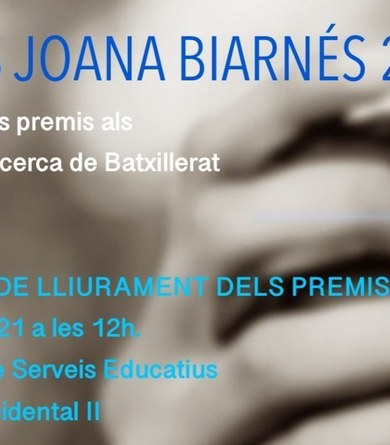 Premis Joana Biarnés 2021
