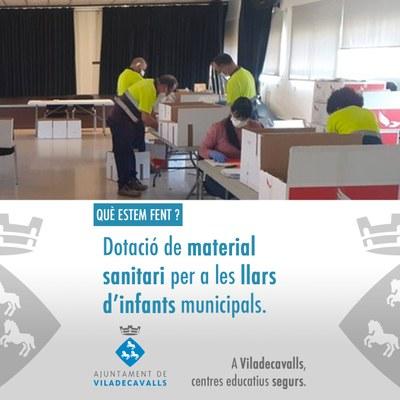Què estem fent per la seguretat als centres educatius de Viladecavalls?