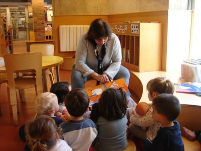Visita Llar Infants Barromina Biblioteca