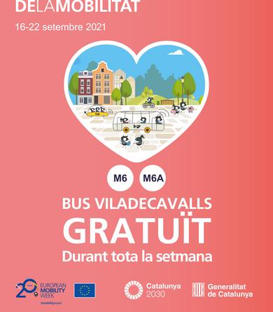 Servei de bus de les línies M6 i M6A gratuït per la Setmana Europea de la Mobilitat