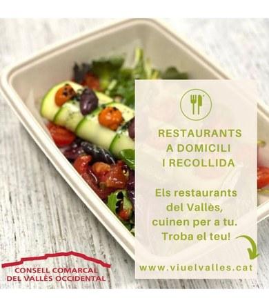 Servei de menjar per emportar a Viladecavalls