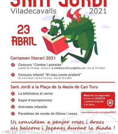Cartell de Sant Jordi 2021