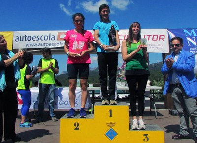 Podi Cursa 11.5km Categoria Absoluta Femenina