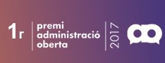 Primer Premi III Edició dels Reconeixements Administració Oberta de Catalunya