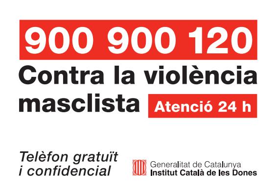 Atenció a víctimes de violència de gènere
